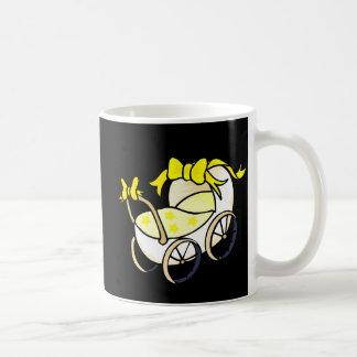 Yellow Buggy Classic White Coffee Mug