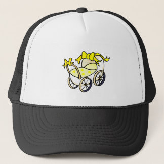 Yellow Buggy Trucker Hat