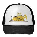 Yellow Bulldozer Trucker Hat