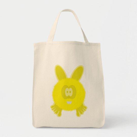 Yellow Bunny Pom Pom Pal Bag