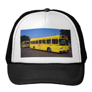 Yellow buses, London, England Mesh Hats