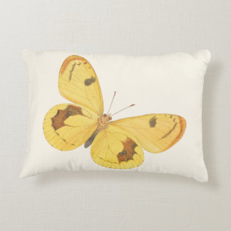 Yellow Butterflies - Accent Pillow
