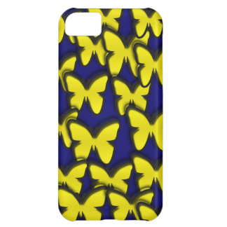 YELLOW BUTTERFLIES iPhone 5C COVER