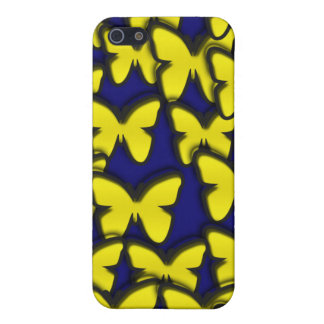 YELLOW BUTTERFLIES iPhone SE/5/5s COVER