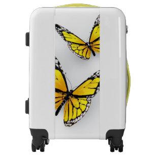 Yellow Butterflies Luggage
