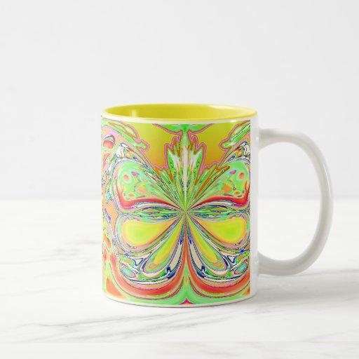 Yellow Butterflies Mug