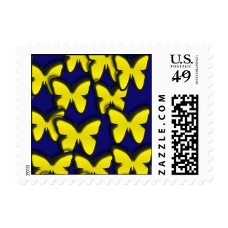 YELLOW BUTTERFLIES POSTAGE