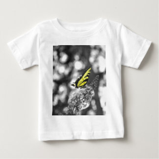 Yellow Butterfly Baby T-Shirt