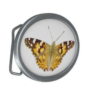 Yellow butterfly Belt Buckle