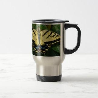 Yellow Butterfly Coffee Mugs
