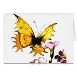 Yellow Butterfly Greeting Cards