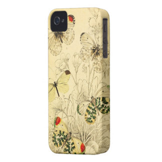 Yellow Butterfly iPhone 4 Case-Mate Cases