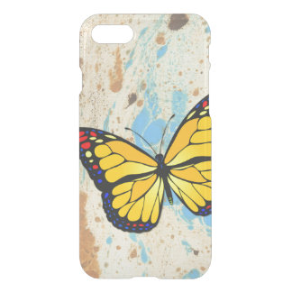 Yellow butterfly iPhone 7 case