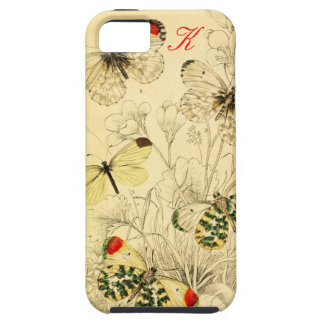 Yellow Butterfly iPhone SE/5/5s Case