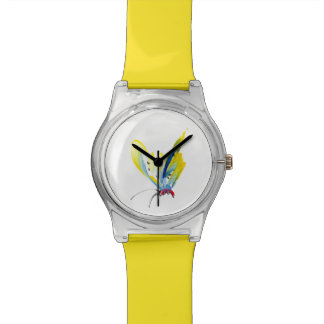 Yellow Butterfly on your watch