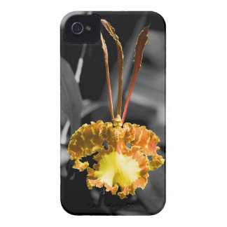 Yellow Butterfly Orchid Case-Mate iPhone 4 Case