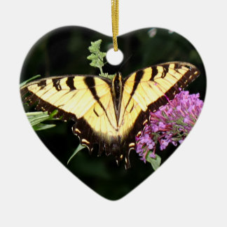 Yellow Butterfly Ornaments