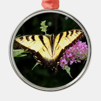 Yellow Butterfly Premium Ornament