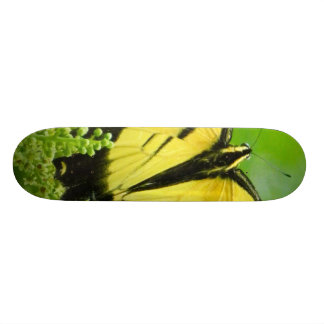 Yellow Butterfly Skateboard