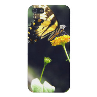 Yellow Butterfly Speck Case