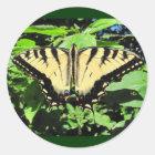 Yellow Butterfly ~ sticker