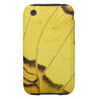 Yellow Butterfly Wings Case-Mate iPhone 3 Case BEA