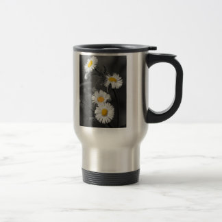 Yellow Button Flowers travel mug