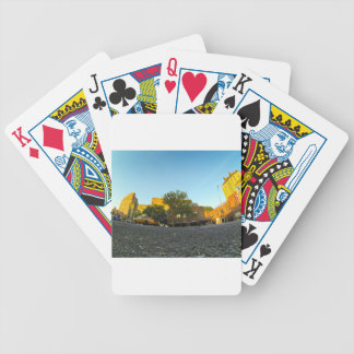 Yellow Cab in New York Bicycle Playing Cards
