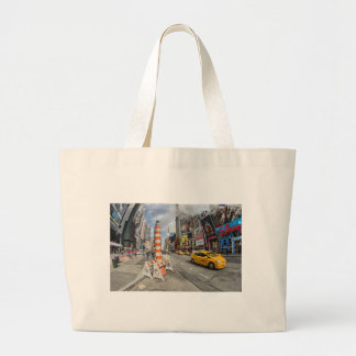 Yellow cab in NYC Bags