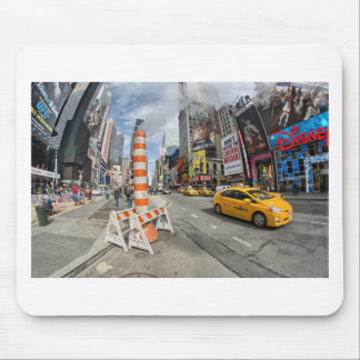 Yellow cab in NYC Mouse Pad