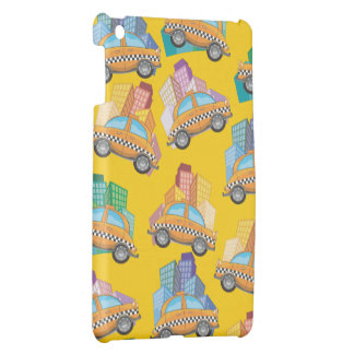 Yellow Cab Taxi iPad Mini Case