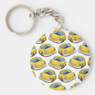 Yellow Cab Taxi Keychain