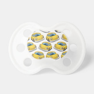 Yellow Cab Taxi BooginHead Pacifier