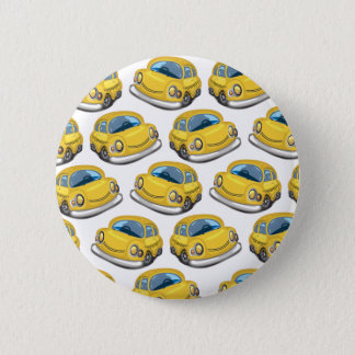 Yellow Cab Taxi Pinback Button