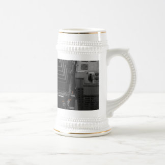 Yellow cabs beer stein