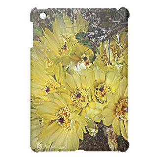 Yellow Cactus Blooms iPad Mini Case
