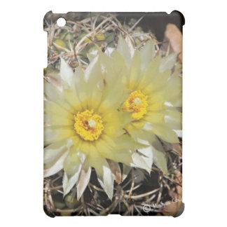 Yellow Cactus Blooms iPad Mini Cover