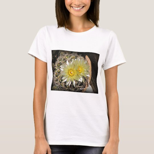 Yellow Cactus Blooms T-Shirt