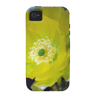 Yellow cactus flower and meaning Case-Mate iPhone 4 covers