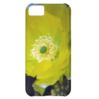 Yellow cactus flower and meaning iPhone 5C case