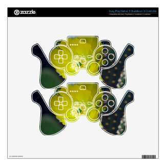 Yellow cactus flower and meaning skins for PS3 controllers