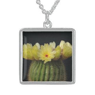 Yellow Cactus Flower Custom Jewelry