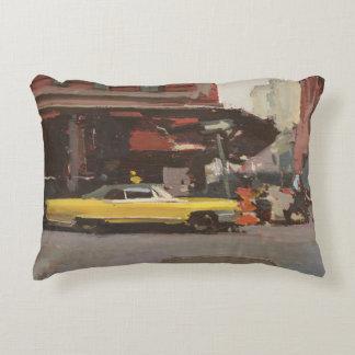 Yellow Cadillac 2012 Decorative Pillow