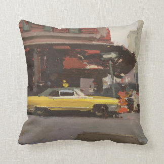 Yellow Cadillac 2012 Pillow