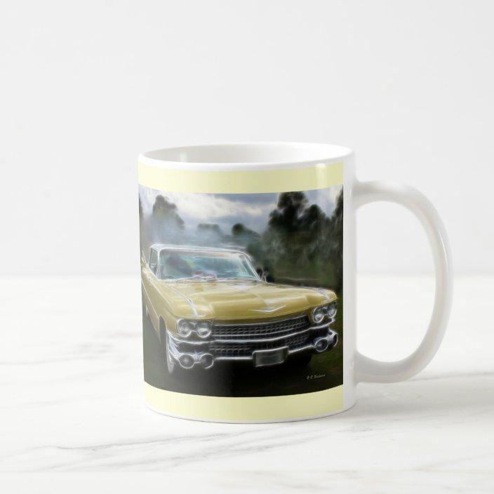 Yellow Cadillac Coffee Mug Zazzle Com