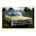 Yellow Cadillac Postcard