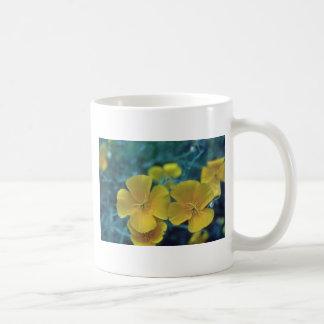 yellow California Poppy (Eschscholzia Californica) Classic White Coffee Mug