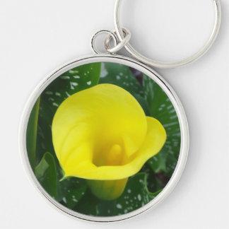 Yellow Calla Keychain