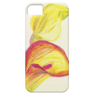 Yellow Calla Lilies iPhone SE/5/5s Case