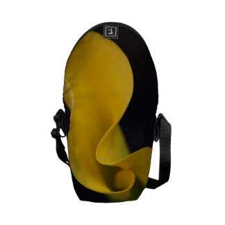 Yellow Calla Lilly Flower bag Courier Bag
